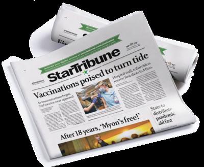 Sunday Full Run Star Tribune Print