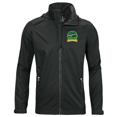 Men's Embroidered Lightweight Jacket
