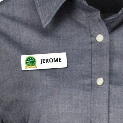 Custom Magnetic Name Tags