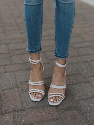 Strap Block Heel