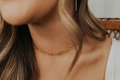 Thin Link Gold