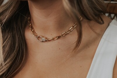 Banks Necklace - Gold