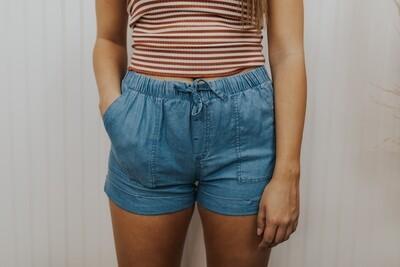 Mia Shorts - Blue