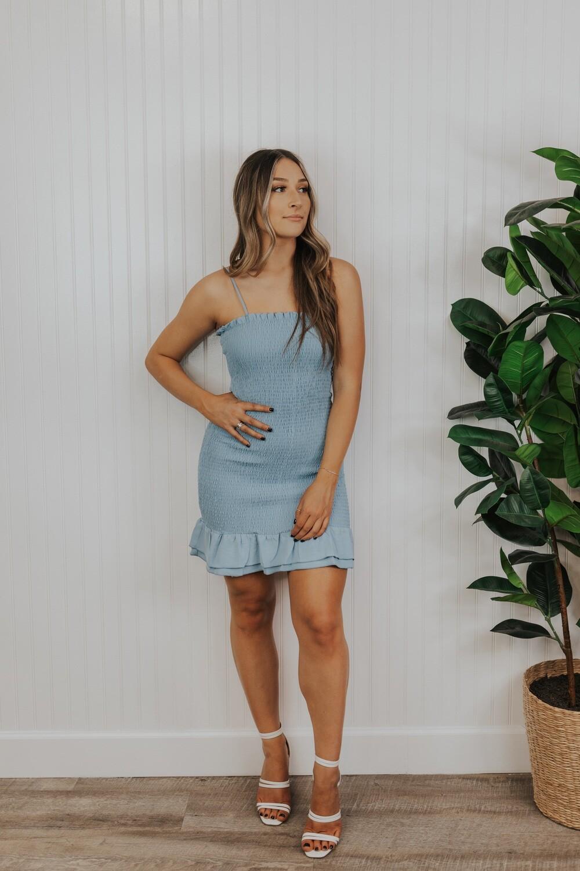 Laurel Dress - Blue