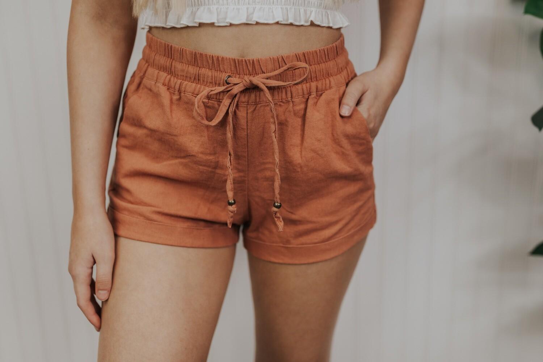 Mia Shorts - Clay
