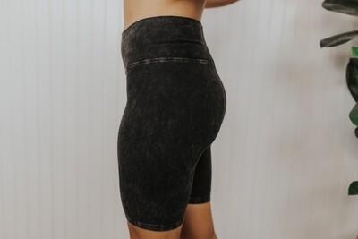 Biker Shorts-Black