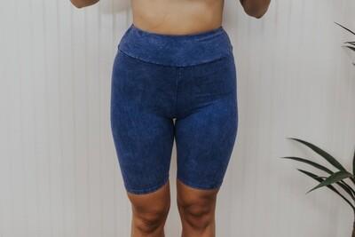 Biker Shorts - Blue