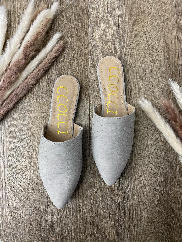 Isabella Slides Grey