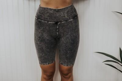 Biker Shorts - Dark Silver
