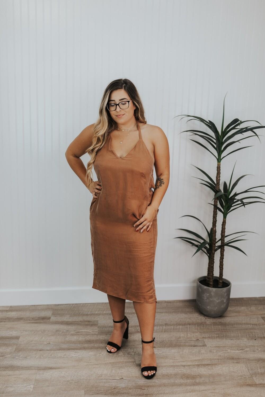 Summer Dress - Bronze