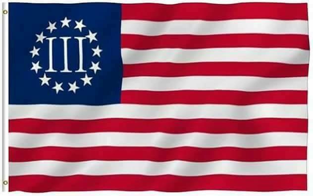 Betsy Ross Nyberg Flag (III% Flag)