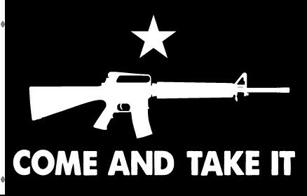 Come and Take It Flag - Black