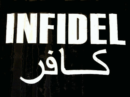 Infidel Flag - Black