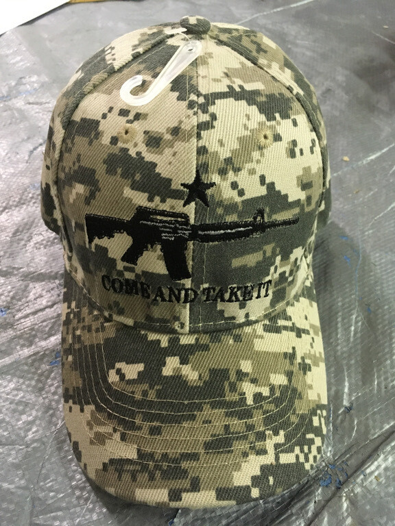 Digital Camo Come And Take It Hat
