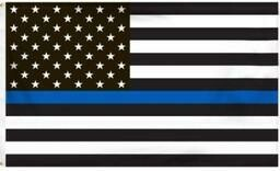 American Blue Lives Matter Flag Sticker