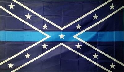 Rebel Blue Lives Matter Flag