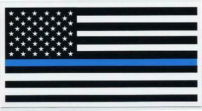 American Flag Blue Lives Matter