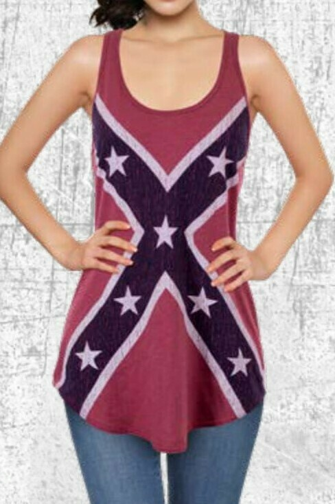 Confederate Ladies Tank Top