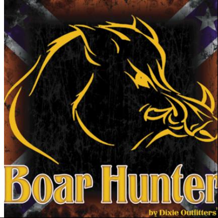 Confederate Boar Hunter Sticker