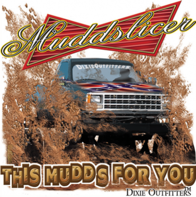 Muddslicer Sticker by Dixie Outfitters®