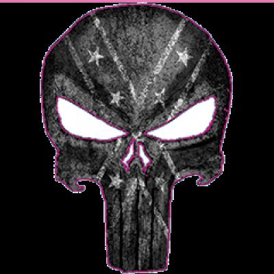 Punisher Rebel Sticker