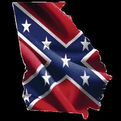 Georgia Confederate Sticker
