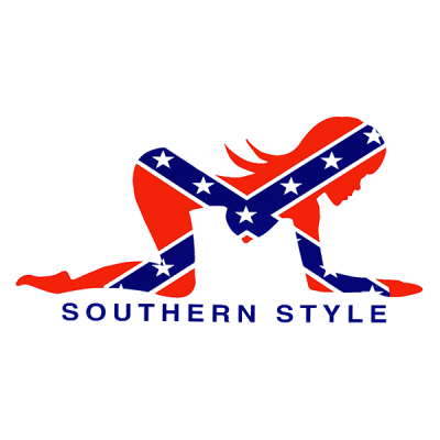 Southern Style - Square Sticker by Dixie Outfitters®
