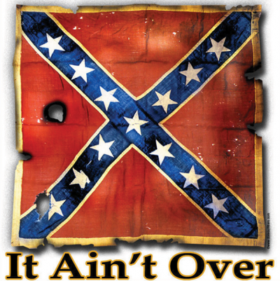 It Aint Over Sticker v2 by Dixie Outfitters®​