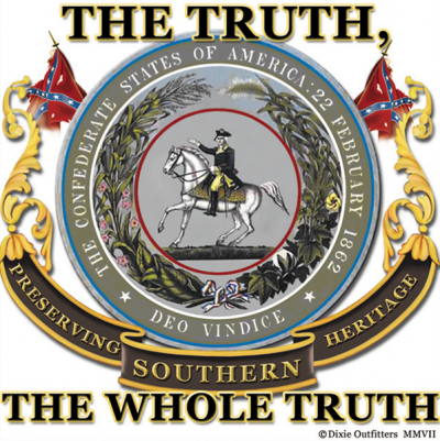 The Whole Truth - Square Sticker by Dixie Outfitters®​