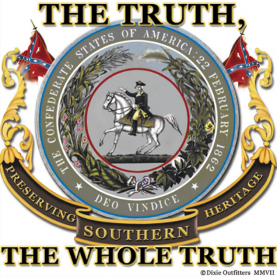 The Whole Truth - Square Sticker by Dixie Outfitters®