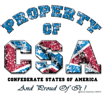 Property of CSA Sticker by Dixie Outfitters®​