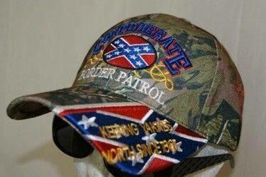 Confederate Border Patrol Hat