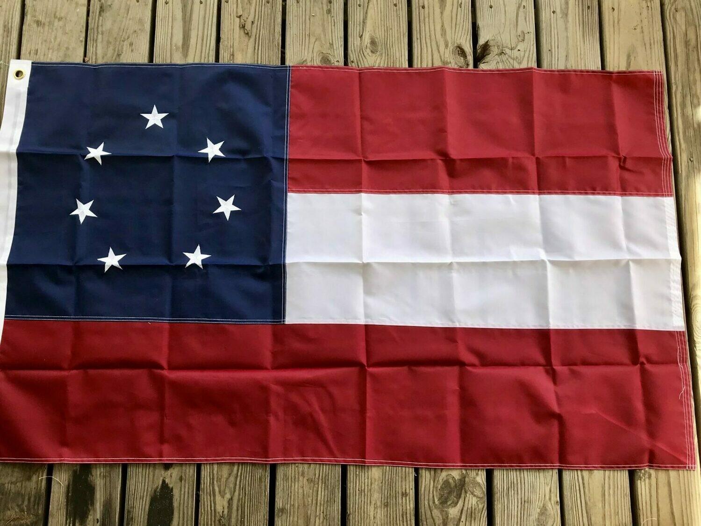 1st National Flag - 5x8