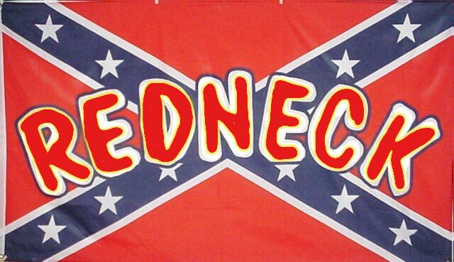 Redneck On The Battle Flag