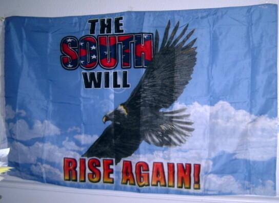 The South Will Rise Again - Eagle Flag