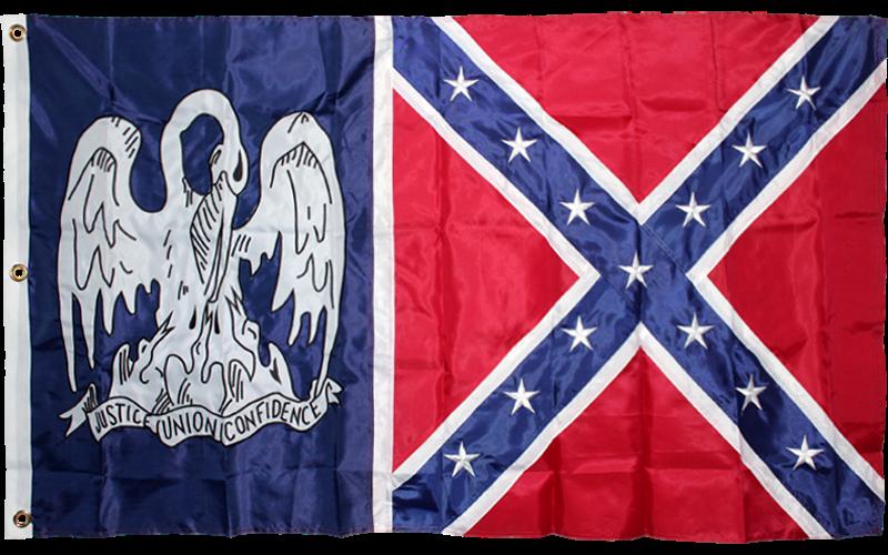 Louisiana Divisional Battle Flag