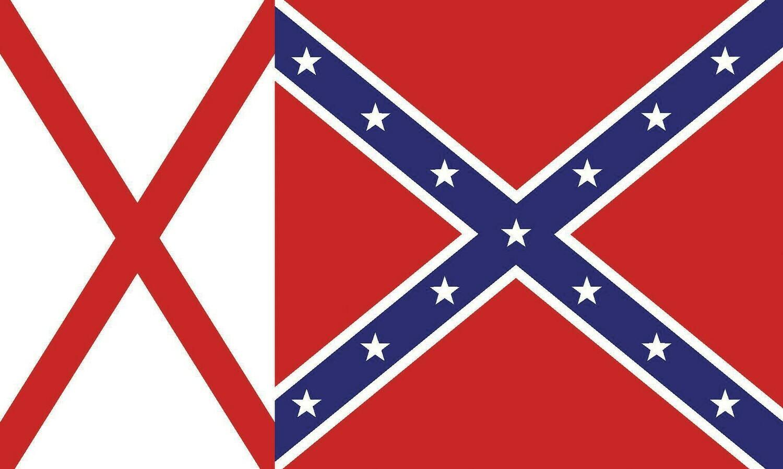 Alabama Battle Flag Combo