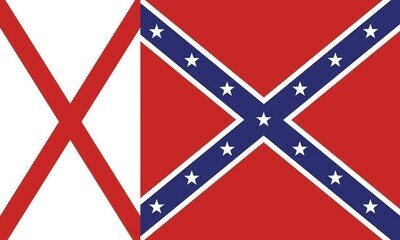 Alabama Battle Flag Combo
