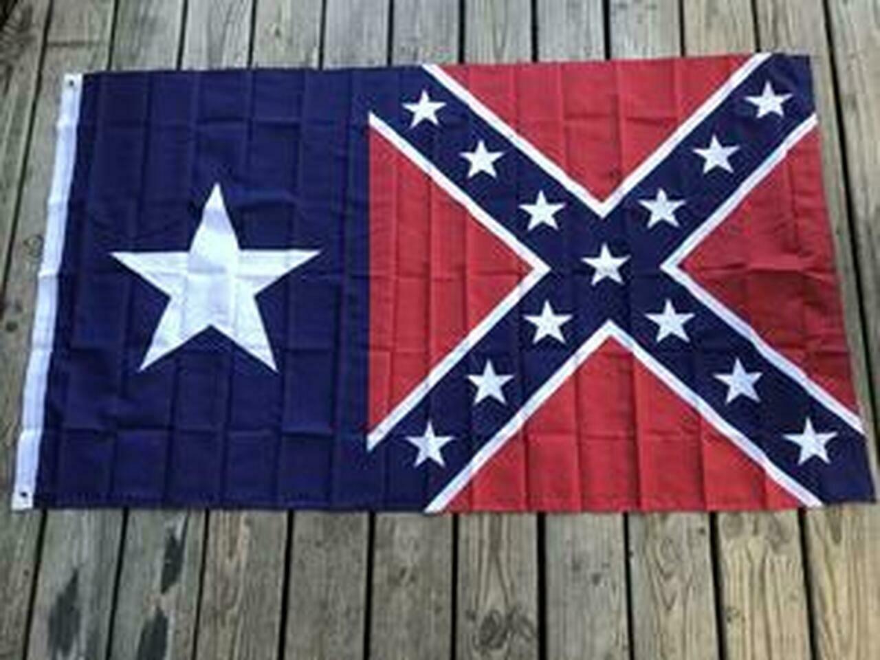 Texas / Battle Flag Combo