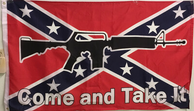 Battle Flag w/Come and take it
