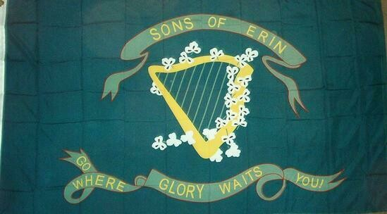 Sons Of Erin Flag - 10th Tennessee