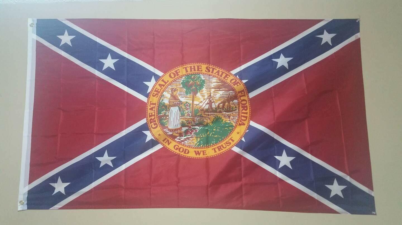 Battle Flag w/Florida Seal