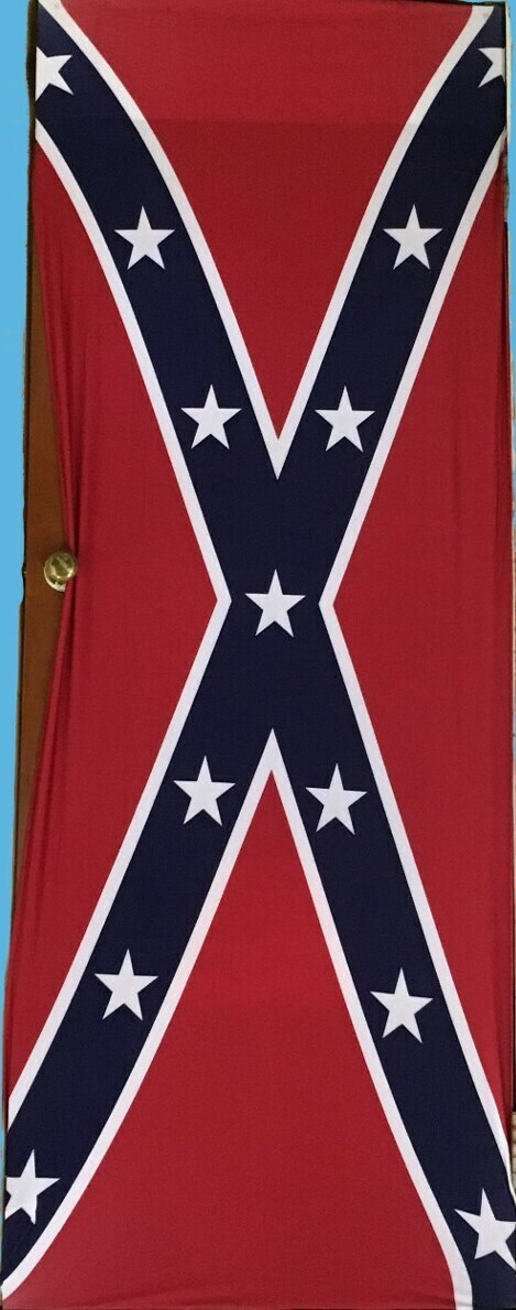 Confederate Flag Door Cover