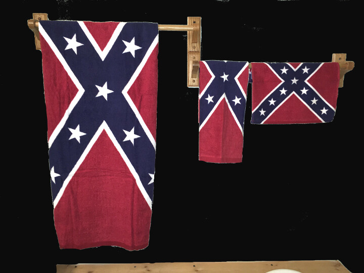 Battle Flag Bath Towel Set (Complete)