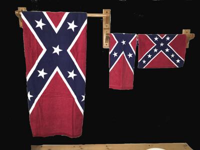 Battle Flag Bath Towel Set (Complete)
