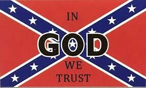 In God We Trust Battle Flag