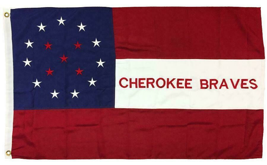 Cherokee Braves Flag