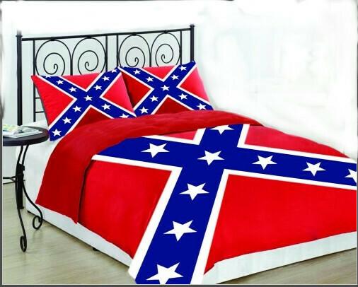 Confederate Flag 3 Piece Comforter Set