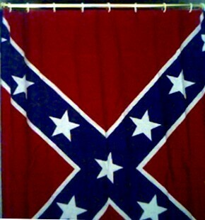 Battle Flag Shower Curtain