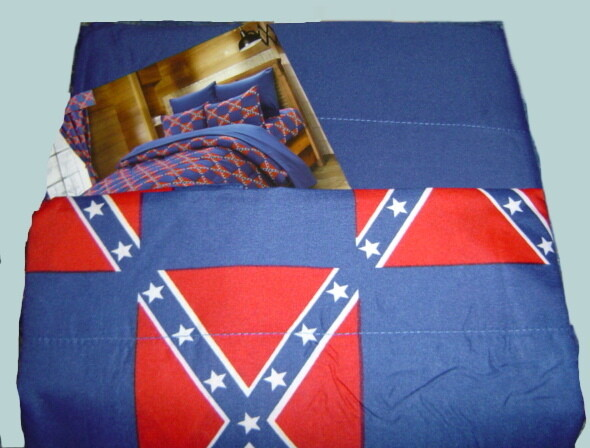Rebel Flag Print Sheet Sets